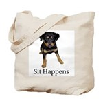Sit Happens Tote Bag