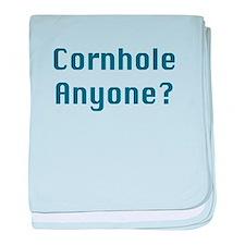 Cornhole Anyone? baby blanket