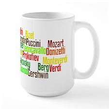 Opera Composers Mug