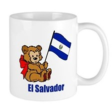 El Salvador Teddy Bear Mug