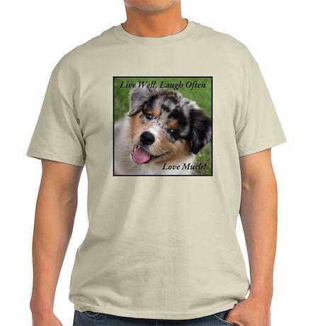 Live, Love, Laugh Light T-Shirt