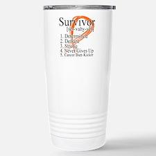 Leukemia Survivor Definition Travel Mug
