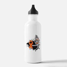 Butterfly Survivor Leukemia Water Bottle
