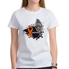 Butterfly Survivor Leukemia Tee