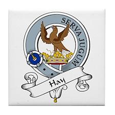 Hay Clan Badge Tile Coaster