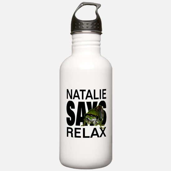 Natalie Says Relax Water Bottle