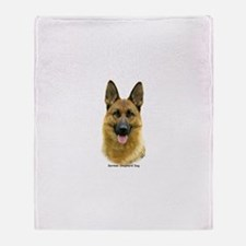 German Shepherd 9B51D-11 Throw Blanket