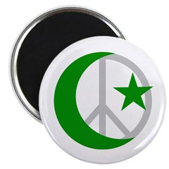 Muslims for Peace Magnet