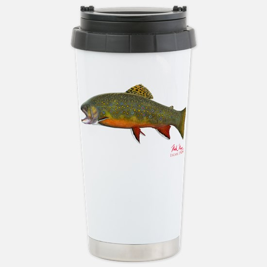 Cute Trout Travel Mug