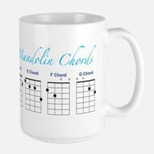 Mandolin Major Chords Mug