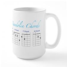 Mandolin Major Chords Mug