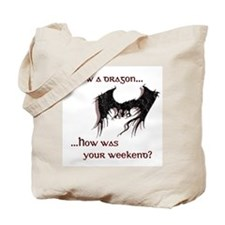 Slew a dragon Tote Bag