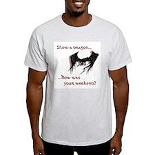 Slew a dragon Ash Grey T-Shirt