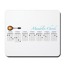 Mandolin Major Chords Mousepad