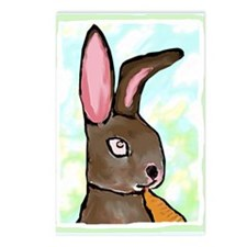 bunny Postcards (Package of 8)