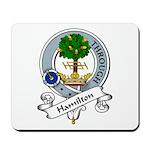 Hamilton Clan Badge Mousepad