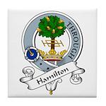 Hamilton Clan Badge Tile Coaster
