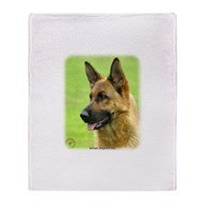 German Shepherd Dog 9B50D-20 Throw Blanket