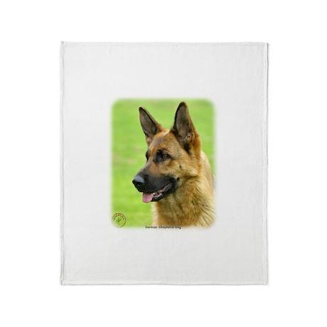 German Shepherd Dog 9B50D-20 Throw Blanket