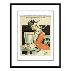 L'Heure d'Absinthe Large Framed Print
