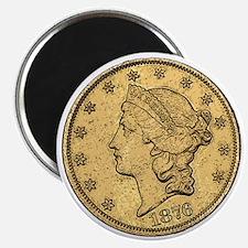 Liberty Head Double Eagle Reverse Magnet