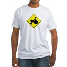 Tractor Crossing Sign Shirt