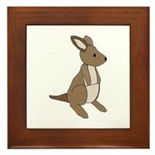 kangaroo Framed Tile