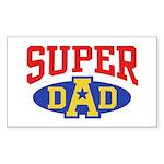 Super Dad Sticker (Rectangle)