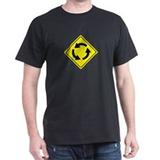 Roundabout Sign T-Shirt