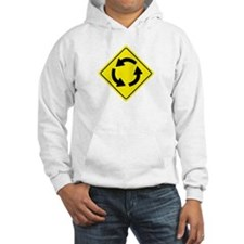 Roundabout Sign Hoodie
