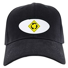 Roundabout Sign Baseball Hat