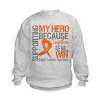 Supporting Hero Leukemia Kids Sweatshirt