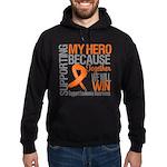 Supporting Hero Leukemia Hoodie (dark)