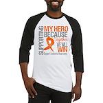 Supporting Hero Leukemia Baseball Jersey