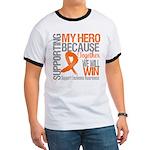 Supporting Hero Leukemia Ringer T