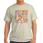 Supporting Hero Leukemia Light T-Shirt