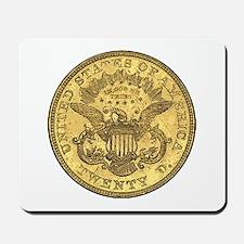 Liberty Head Double Eagle Reverse Mousepad
