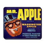 Mr. Apple - Mousepad