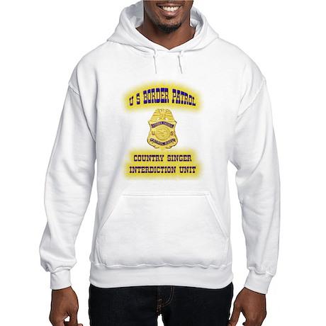USBP Country Singer Interdict Hooded Sweatshirt