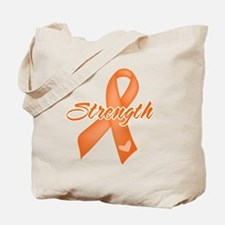 Stength Ribbon Leukemia Tote Bag