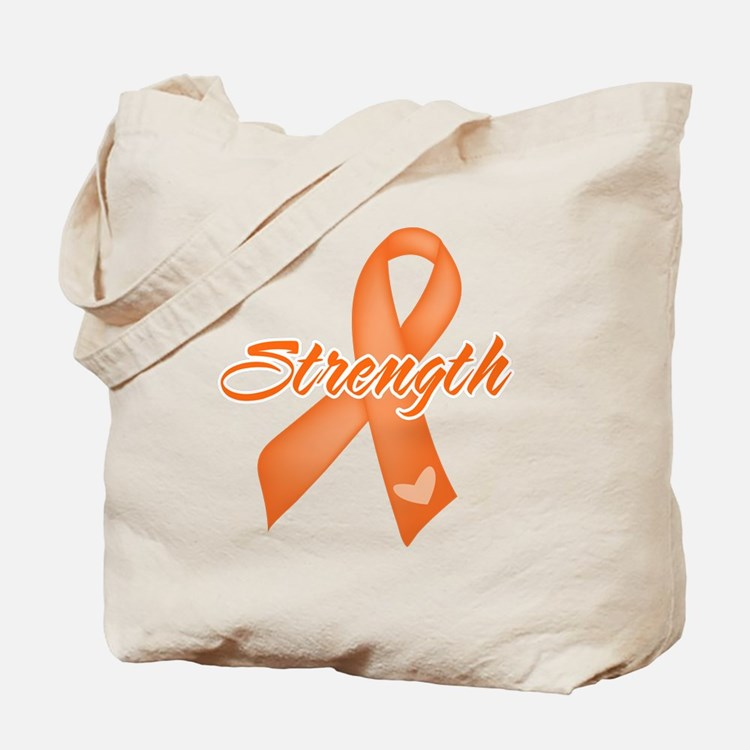 Stength Ribbon Leukemia Tote Bag