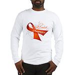 Leukemia Awareness Long Sleeve T-Shirt