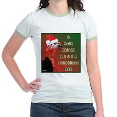 Turkey For Christmas Jr. Ringer T-Shirt