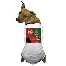Turkey For Christmas Dog T-Shirt