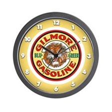 Gilmore Gasoline Wall Clock