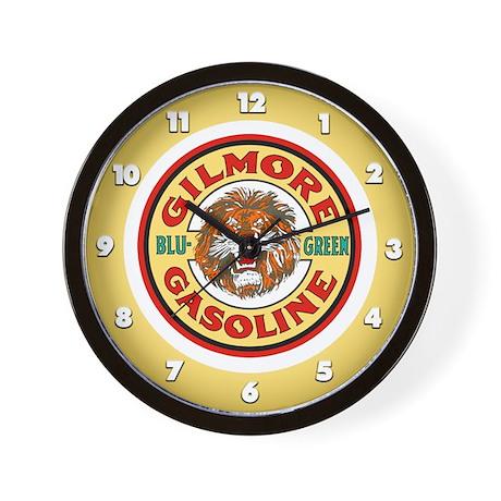 Gilmore Gasoline Wall Clock