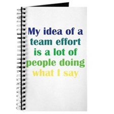 Team Effort Journal