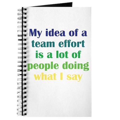 Team Effort Journal