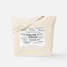 Nalini Singh: Quote Cloud Tote Bag