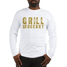 Grill Sergeant Long Sleeve T-Shirt